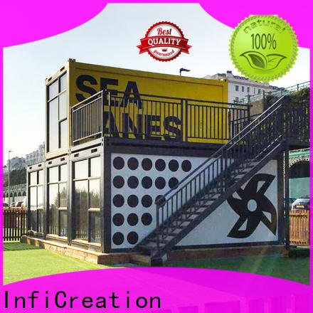 InfiCreation long lasting prefab container house supplier for carport