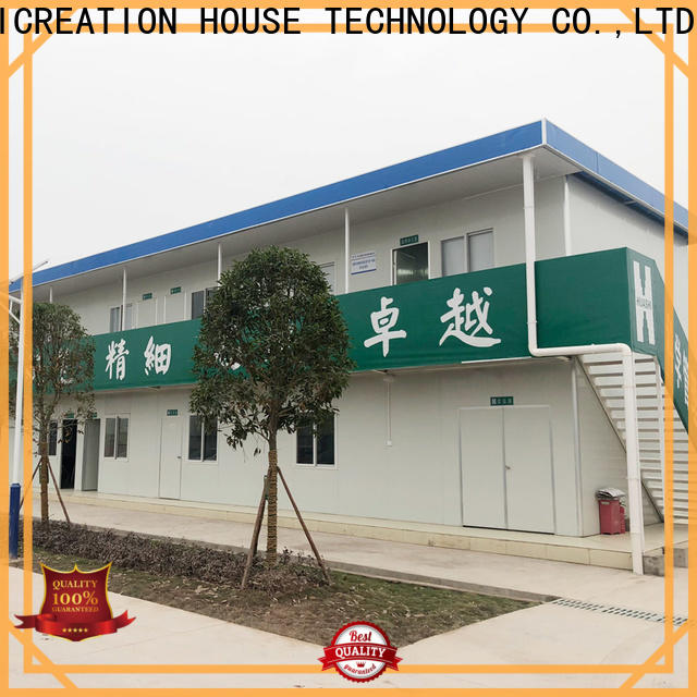 low cost prefabricated container homes factory for toilet