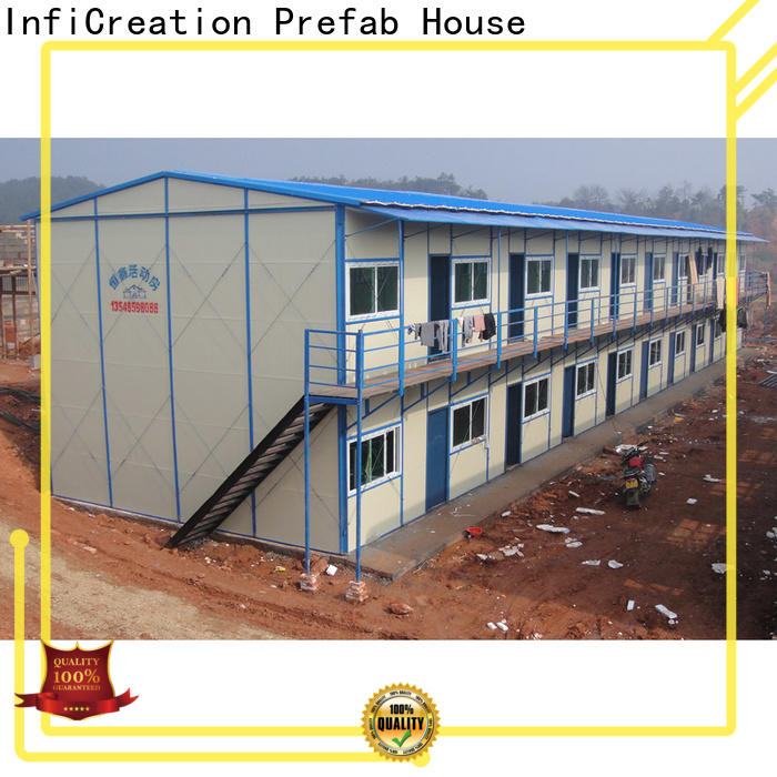 InfiCreation prefabricated k house custom for accommodation