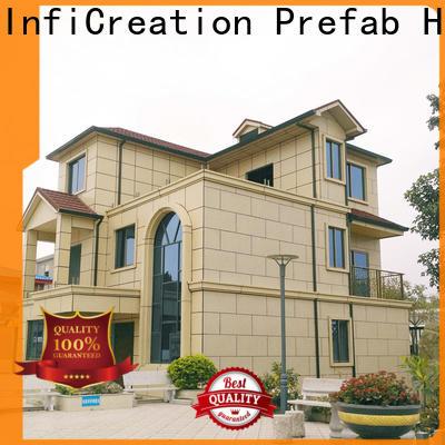 InfiCreation prefab villa designer for hotel