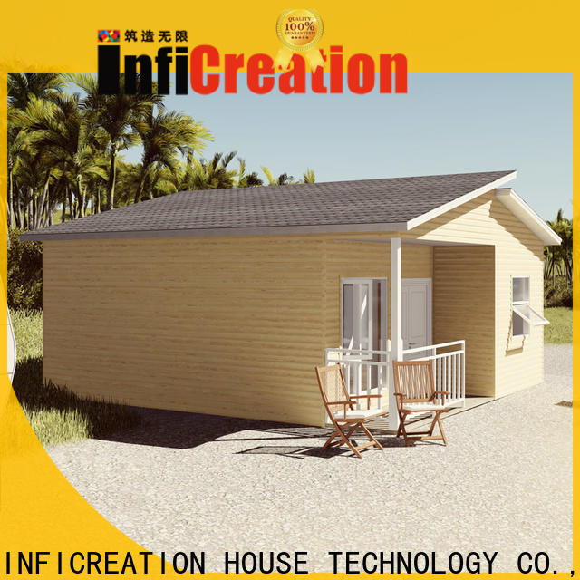 InfiCreation pre manufactured houses factory price for resorts