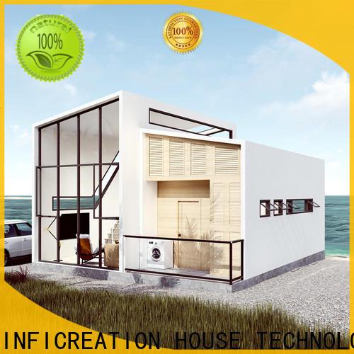 InfiCreation mobile pre built houses custom for resorts