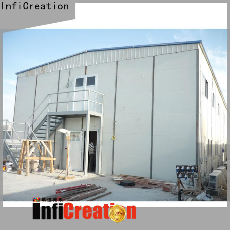 InfiCreation new pre manufactured homes supply for accommodation
