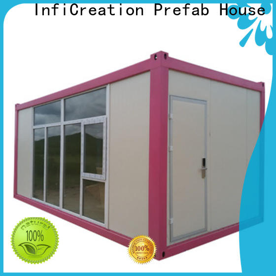 InfiCreation modular container homes factory for booth