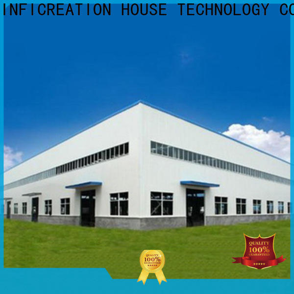InfiCreation low cost prefabricated warehouse buildings design for cargo