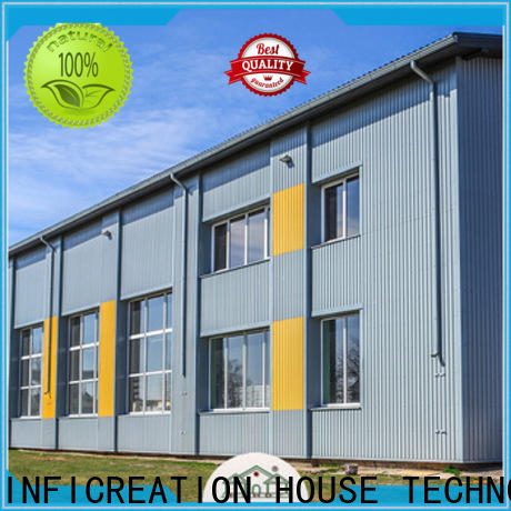 windproof prefabricated steel warehouse manufacturer for storage