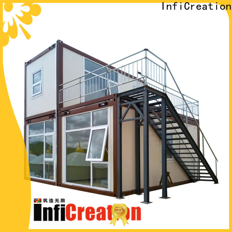 InfiCreation modern modular container homes factory for booth
