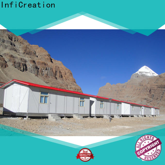InfiCreation fast assembly prefabricated k house wholesale for office