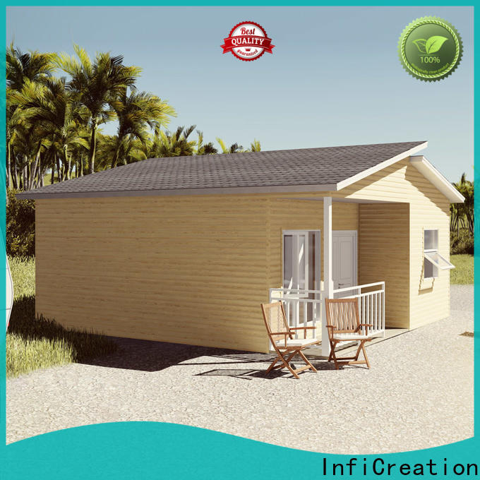 InfiCreation comfortable pre manufactured houses designer for hotel