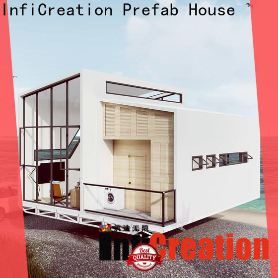 InfiCreation mobile prefab cottage homes custom for resorts