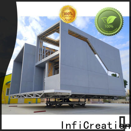 steel pre built homes factory price for entertainment centers