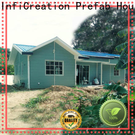 comfortable luxury prefab homes factory price for resorts