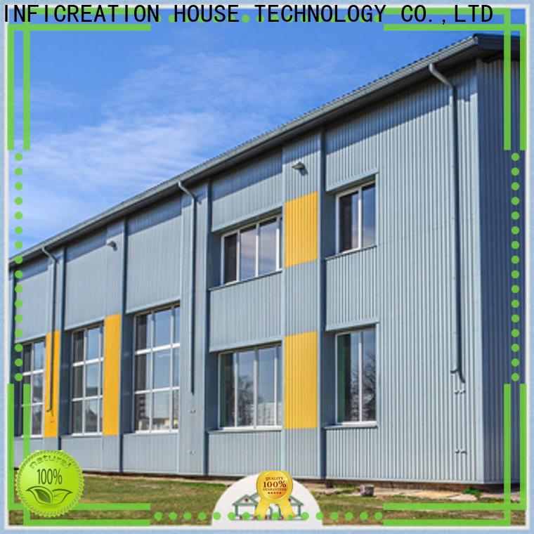 InfiCreation windproof prefab warehouse design for cargo