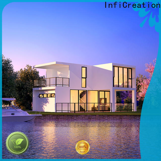 InfiCreation portable prefabricated villa manufacturer for resorts