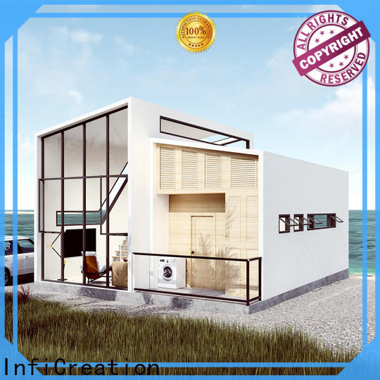 InfiCreation luxury prefabricated homes factory price for resorts