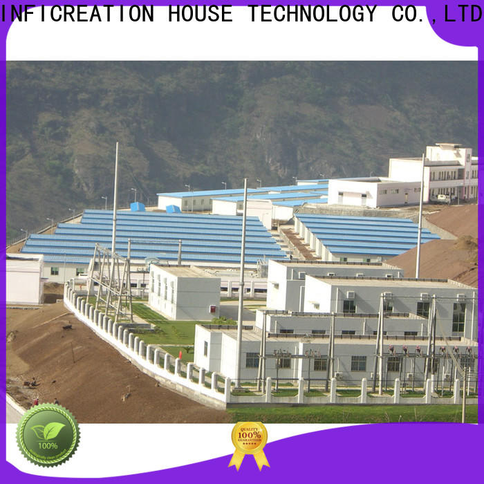 InfiCreation new pre manufactured homes factory for booth
