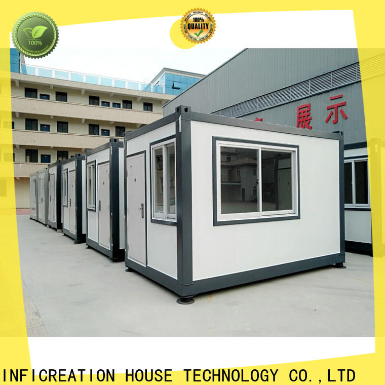 modern pre built container homes manufacturer for carport