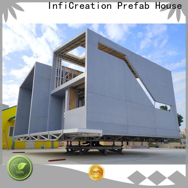 InfiCreation prefab cottage homes designer for entertainment centers