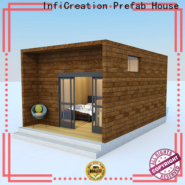 InfiCreation modular beach cottages custom for accommodation