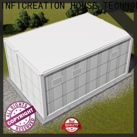 InfiCreation prefab container homes supplier for toilet