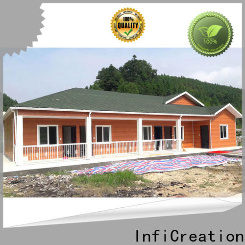 InfiCreation pre manufactured homes supply for accommodation