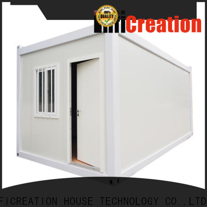 InfiCreation cargo container homes supplier for booth