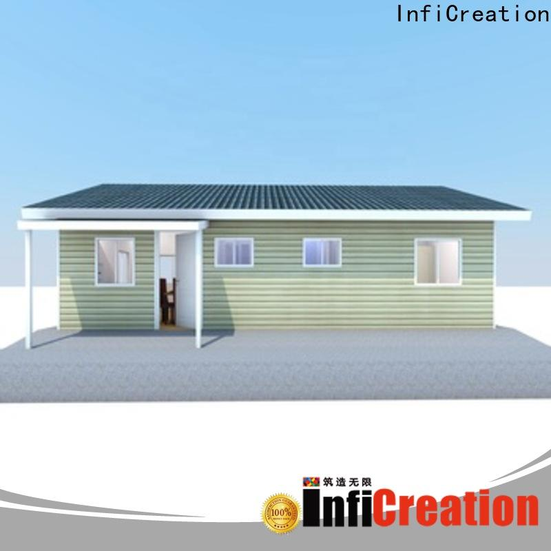 InfiCreation portable pre manufactured cottages factory price for hotel
