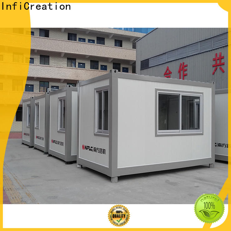 InfiCreation long lasting modular container homes supplier for carport