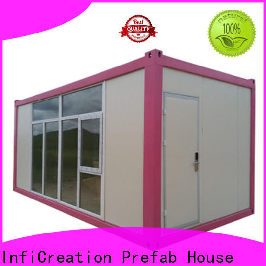 InfiCreation recyclable modular container homes factory price for carport