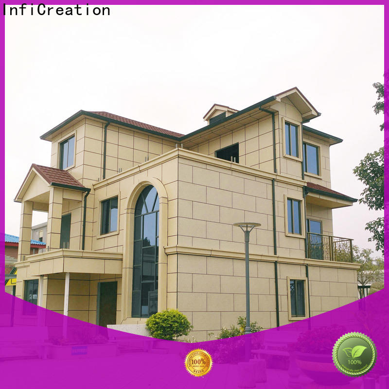InfiCreation modular villas designer for accommodation