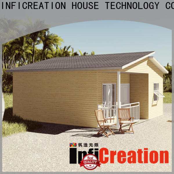 InfiCreation prefabricated cottages manufacturer for accommodation
