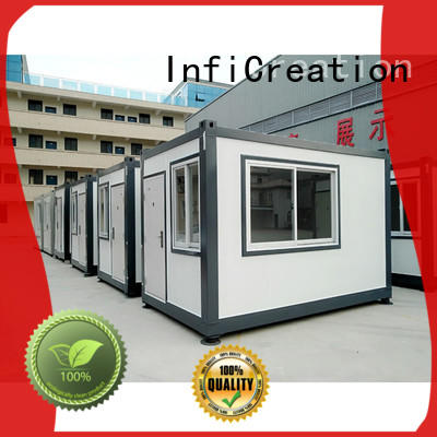 InfiCreation durable prefab container house factory price for accommodation