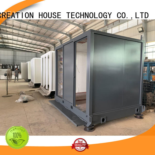tiny cargo container house customized for toilet