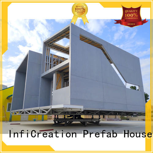 InfiCreation pre manufactured cottages designer for resorts