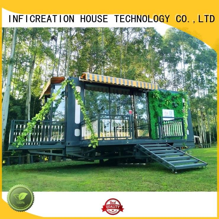 InfiCreation steel prefab storage container homes manufacturer for office