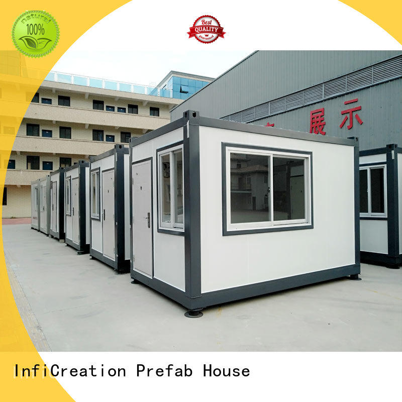 InfiCreation long lasting premade container homes directly sale for accommodation