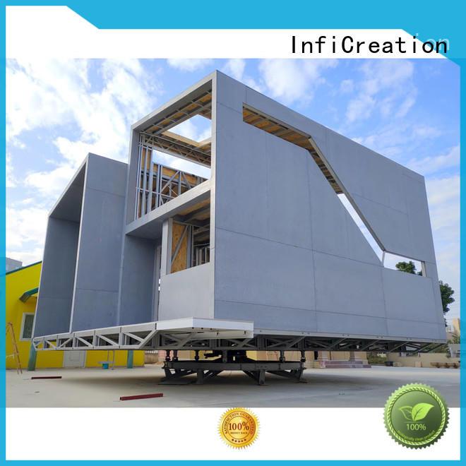 InfiCreation steel prefabricated villa designer for entertainment centers