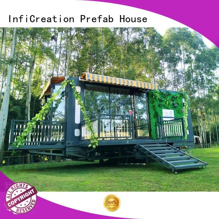 recyclable premade container homes supplier for booth