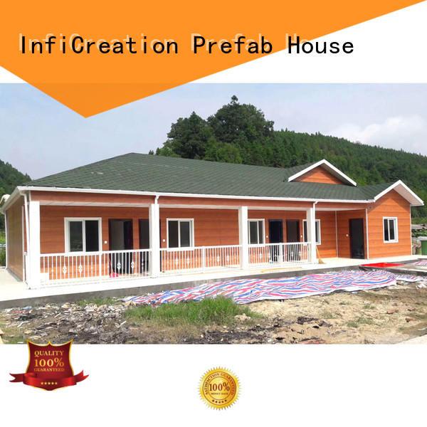 InfiCreation prefab buildings