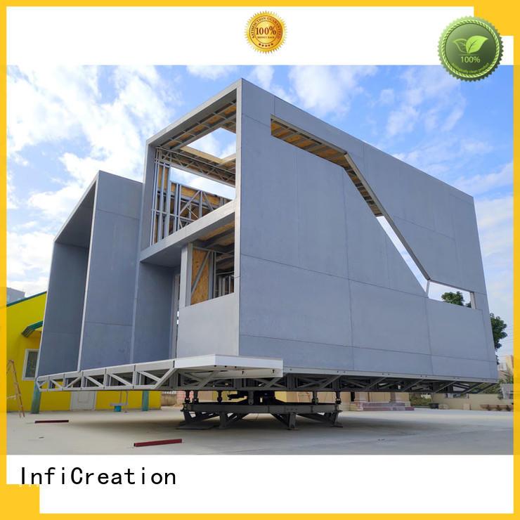 InfiCreation luxury prefabricated homes custom for resorts