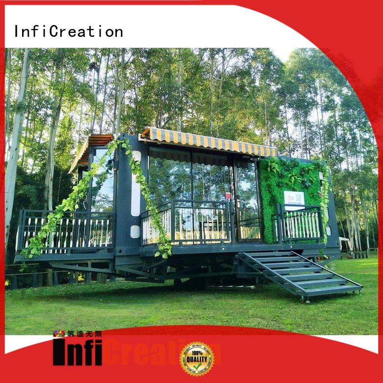 InfiCreation modern storage container homes supplier for office