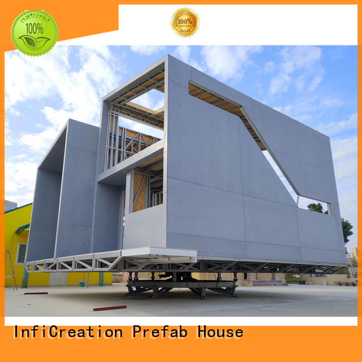 InfiCreation premade homes manufacturer for accommodation