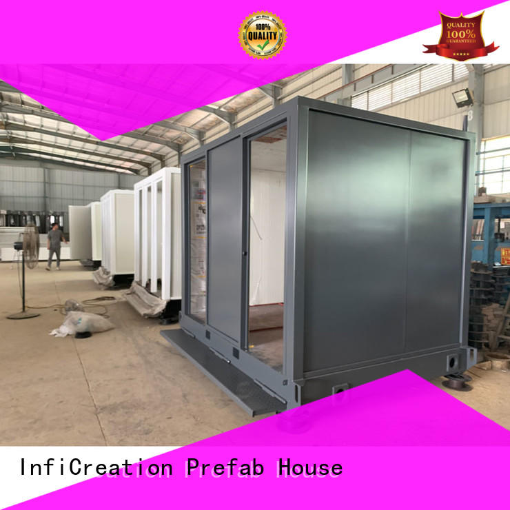 long lasting prefab container house manufacturer for toilet