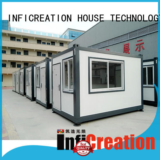 InfiCreation durable cargo container homes supplier for booth