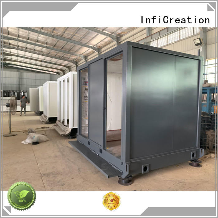 tiny prefabricated container homes manufacturer for office