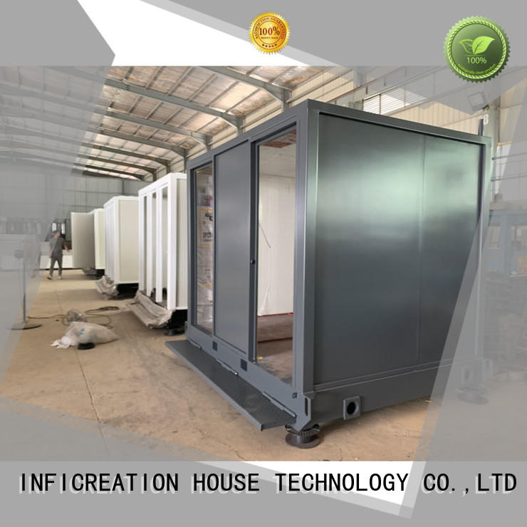 InfiCreation prefab container house supplier for toilet