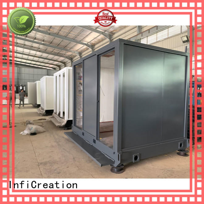 InfiCreation tiny modular container homes supplier for toilet