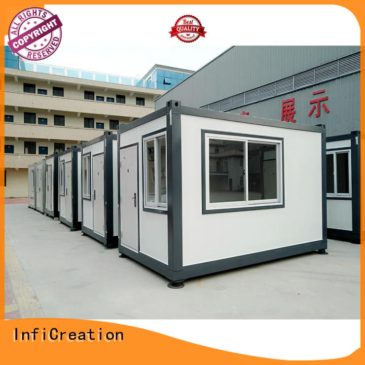 InfiCreation tiny modular container homes directly sale for booth
