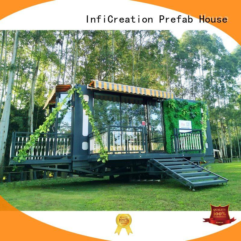 InfiCreation prefabricated container homes manufacturer for office