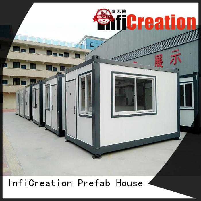 modern prefabricated container homes customized for toilet